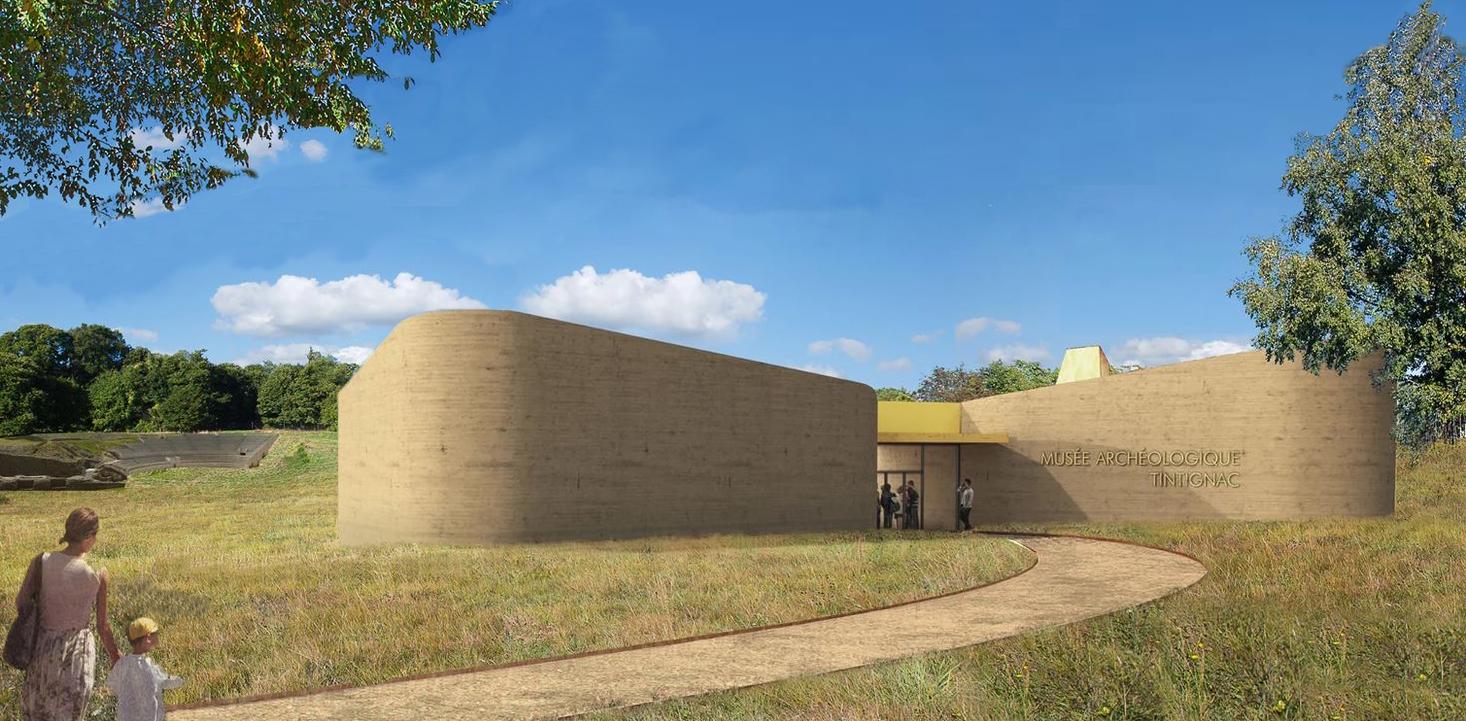 Musee D'archeologie, Tintignac