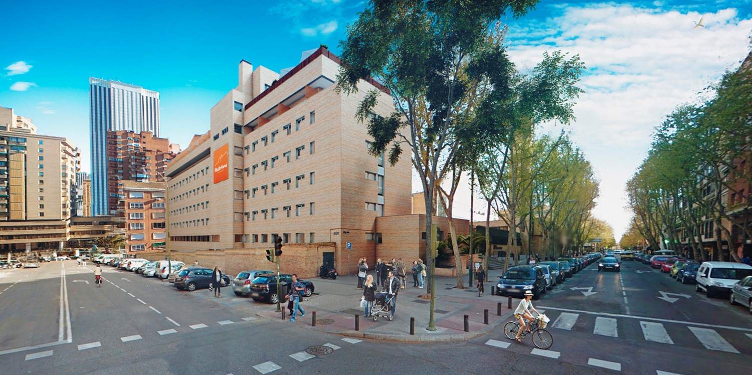 Residencia Universitaria, General Moscardó (Madrid)